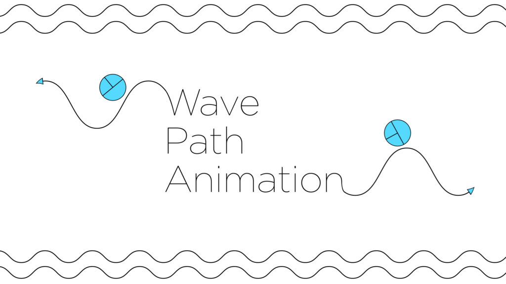 Wave Path animation in After Effects