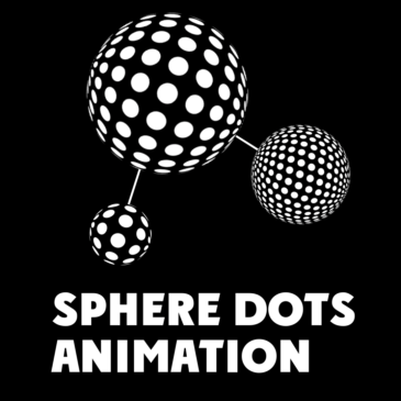 Sphere dots animation in After Effects