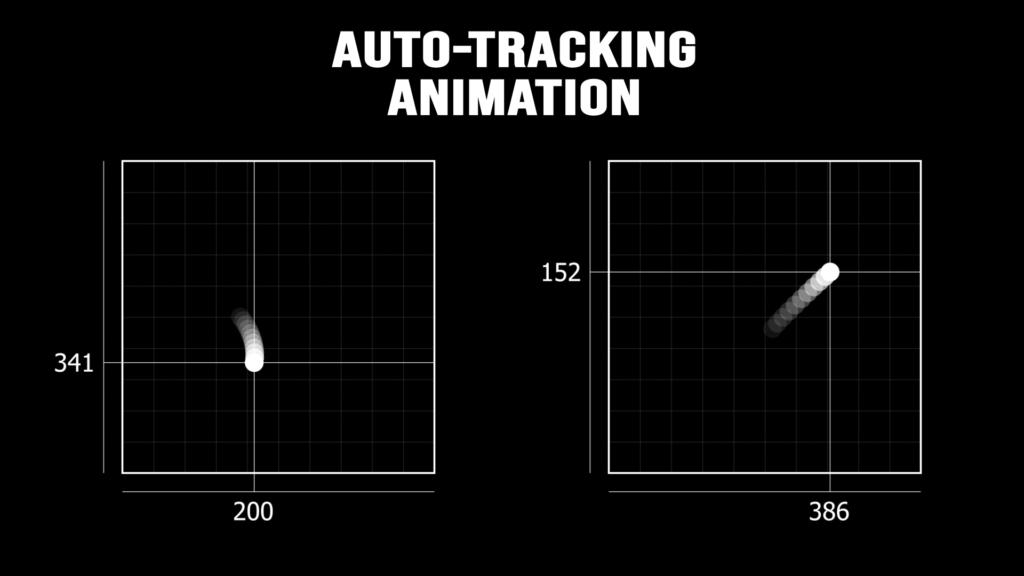 Auto-tracking animation