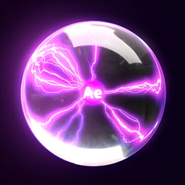 Plasma Ball After Effects tutorial